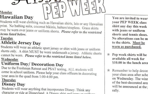 Pep week preview