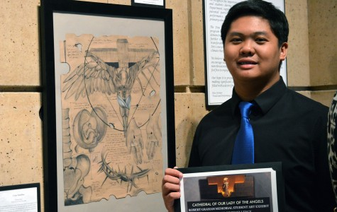 Archdiocese honors six Bishop Amat art students