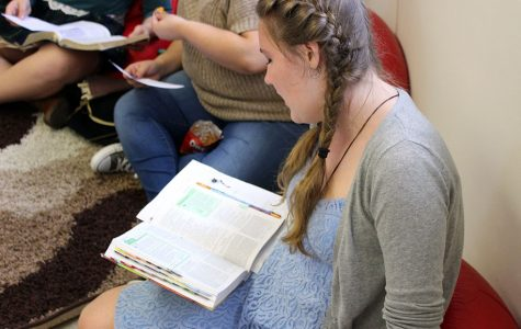 Students lead first Bible study in the Lighthouse