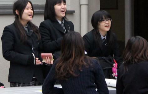 Japanese sister school visits Amat