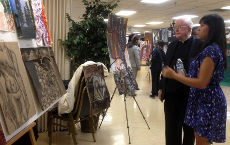 Advanced artists display their masterpieces