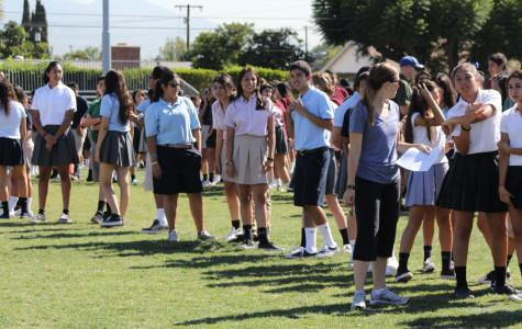 Students brave heat to prepare for disaster