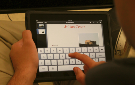 Students find convenience in iPads for school