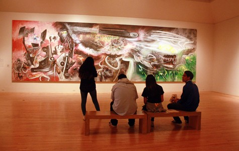 Advanced art students visit LACMA