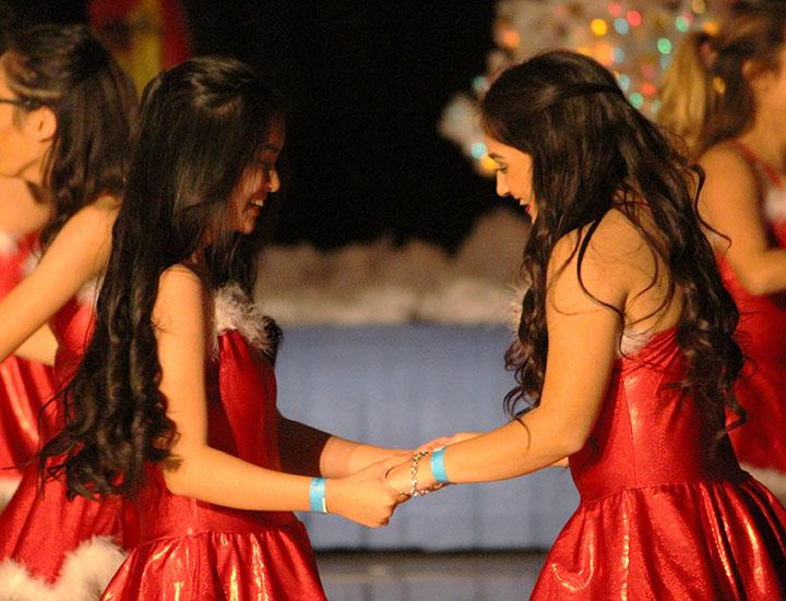 Dance students dazzle at the Winter concert