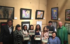 Lancers make a splash at the Robert Graham Memorial Student Art Exhibit