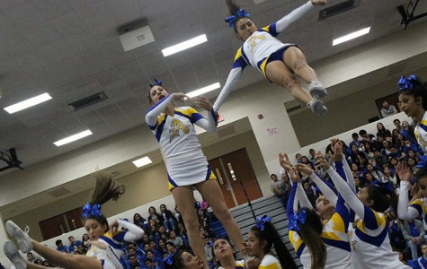 Lancers compete at winter rally