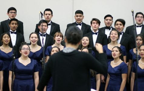 Lancer's choral program development on display Friday