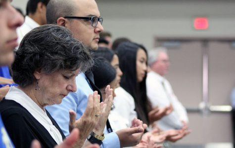 Alumni injured in Vegas shooting honored at school mass