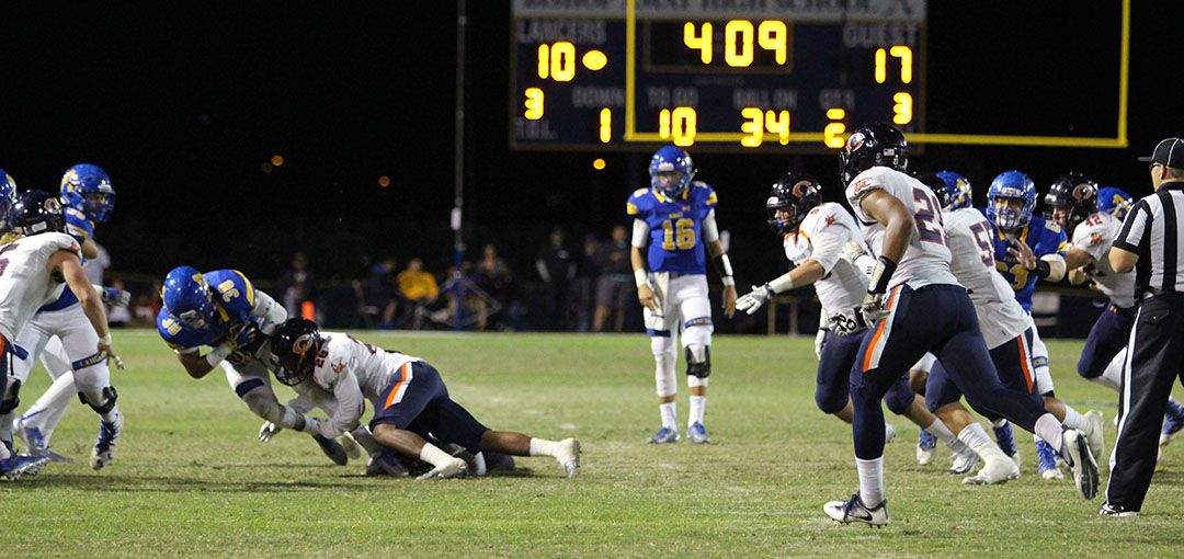 Bishop Amat defeated Chaminade 41-40 in a thrilling overtime game last season.