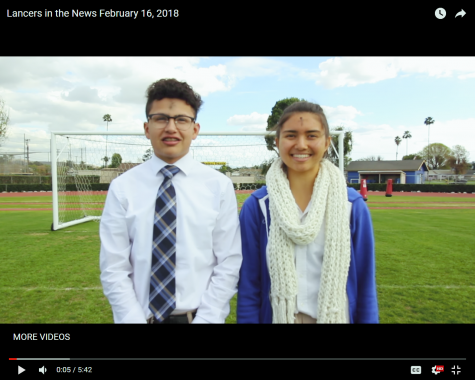 Lancers in the News February 16, 2018