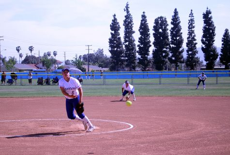 Junior Amanda Hernandez earned the win in Amat