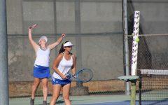Girls' tennis takes on Bishop Montgomery for senior night