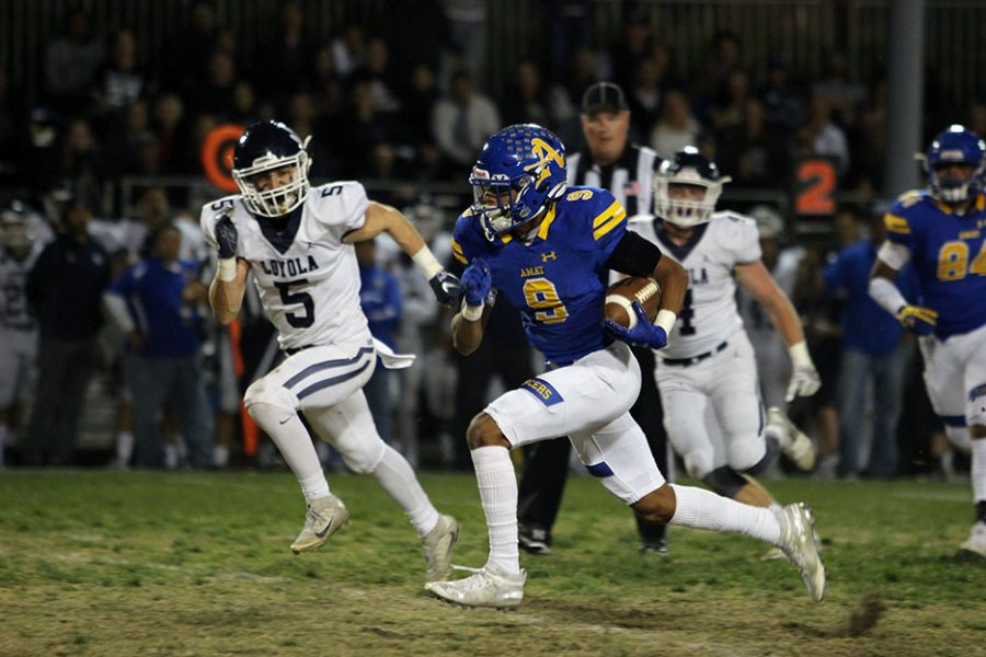 Bishop Amat beats Loyola 38-10 to end the regular season
