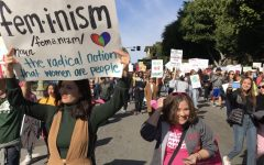 Marchers call for equality at the Women's March