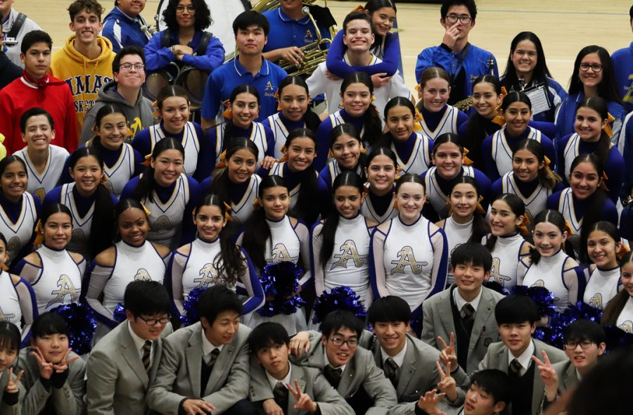 Oki Gakuen and Bishop Amat show off their new friendships and memories.