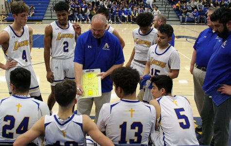 Boys Basketball falls to Cathedral in the season finale