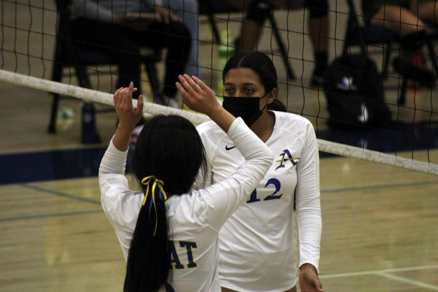 Lady Lancers defeat St. Monica in a tough match to improve to 4-0